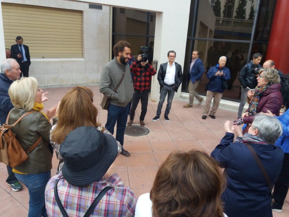 Granada.- Tribunales.- Candel defiende que él no subió a redes sociales el vídeo contra el fiscal provincial