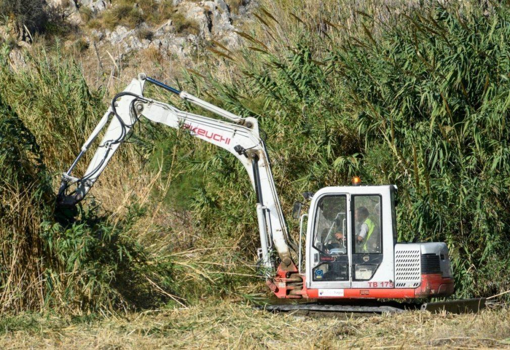 Granada.- La Junta ultima la limpieza de una decena de ramblas en el término municipal de Motril