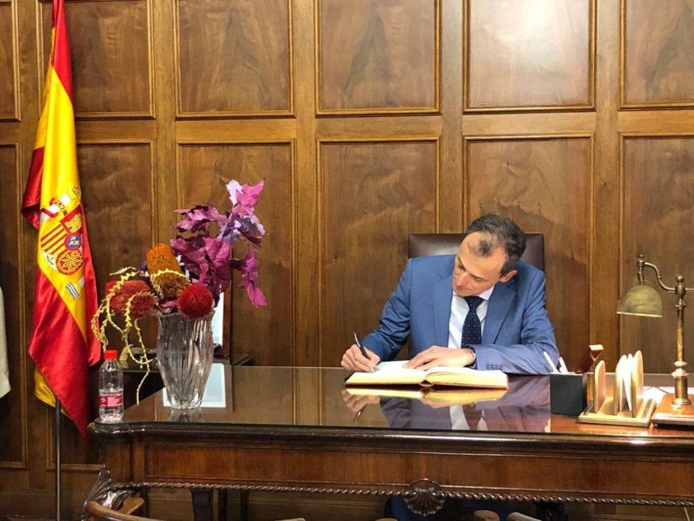 Granada.- Duque destaca que la candidatura de acelerador de partículas avanza a la espera de decisión sobre su ubicación