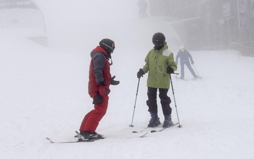 Granada.- Medio millar de esquiadores inauguran la temporada inveral en Sierra Nevada