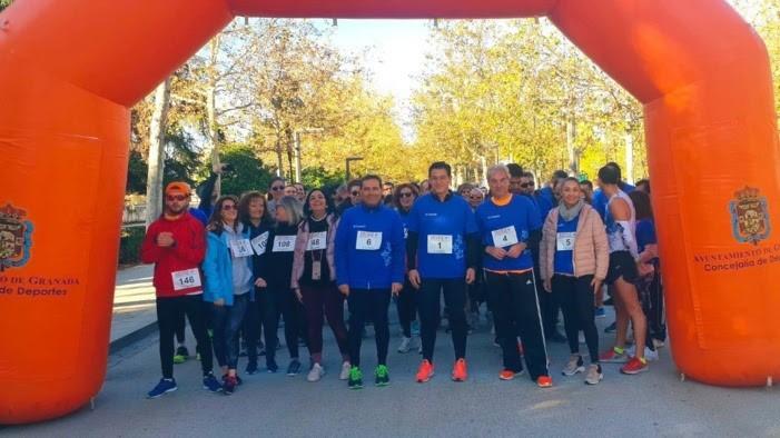 Granada.- Más de 150 participantes en la I Marcha por la Salud Vascular 'Circula Granada'