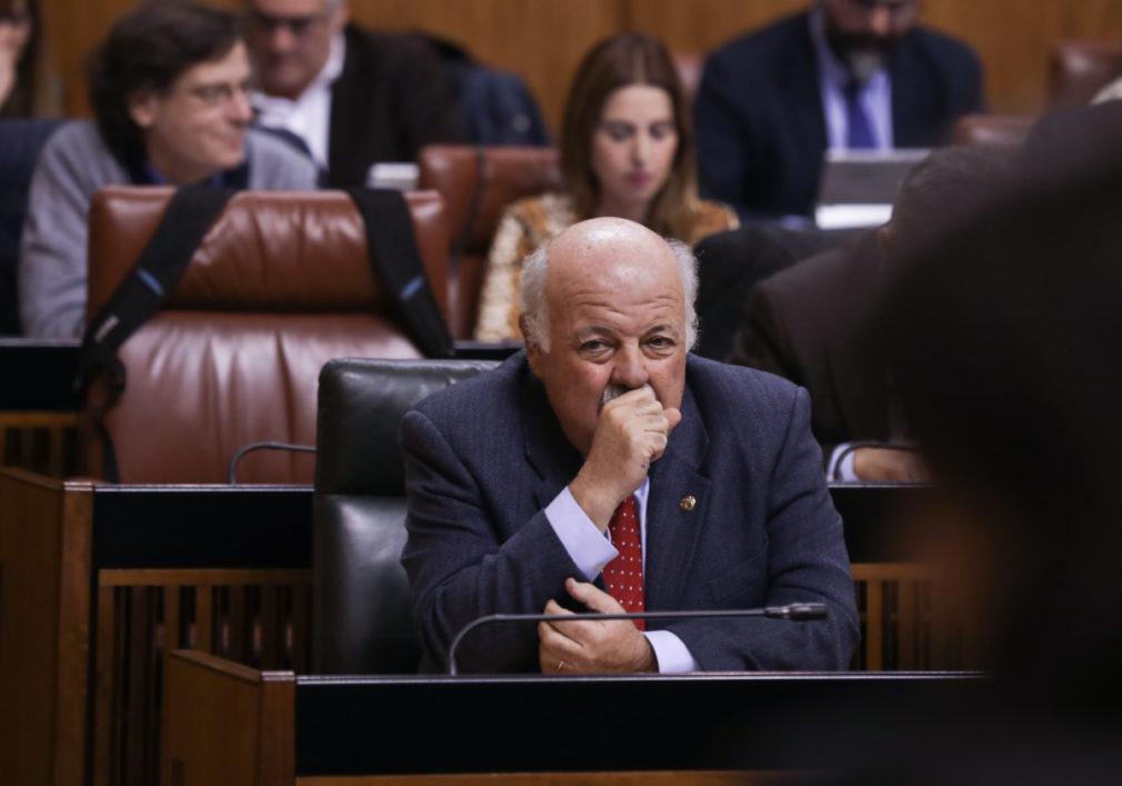 Primera jornada del Pleno del Parlamento de Andalucía