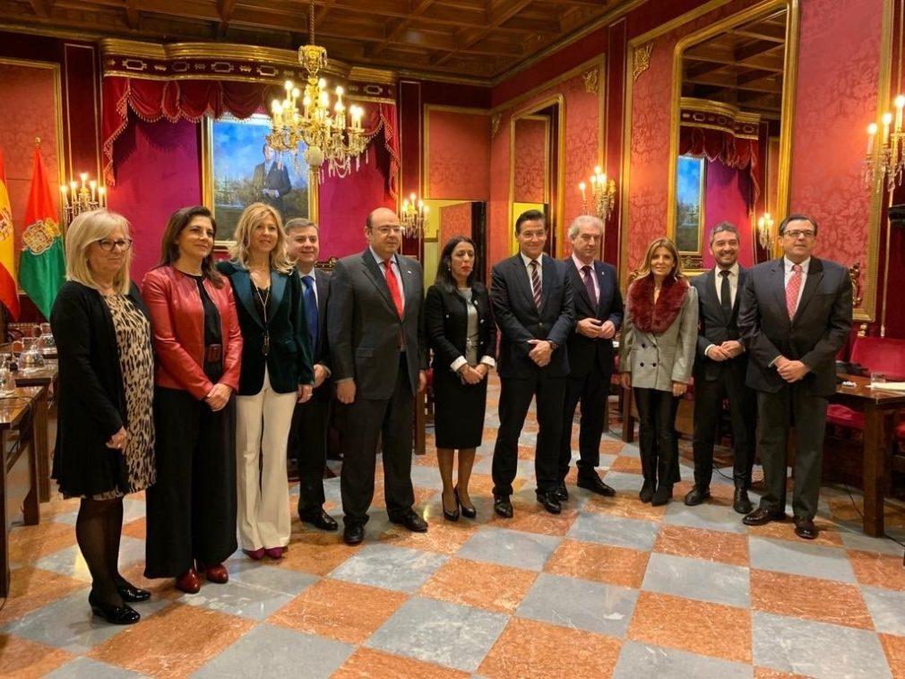 Granada.- Bosquet asegura la colaboración del Parlamento en el proyecto de la Capitalidad Cultural