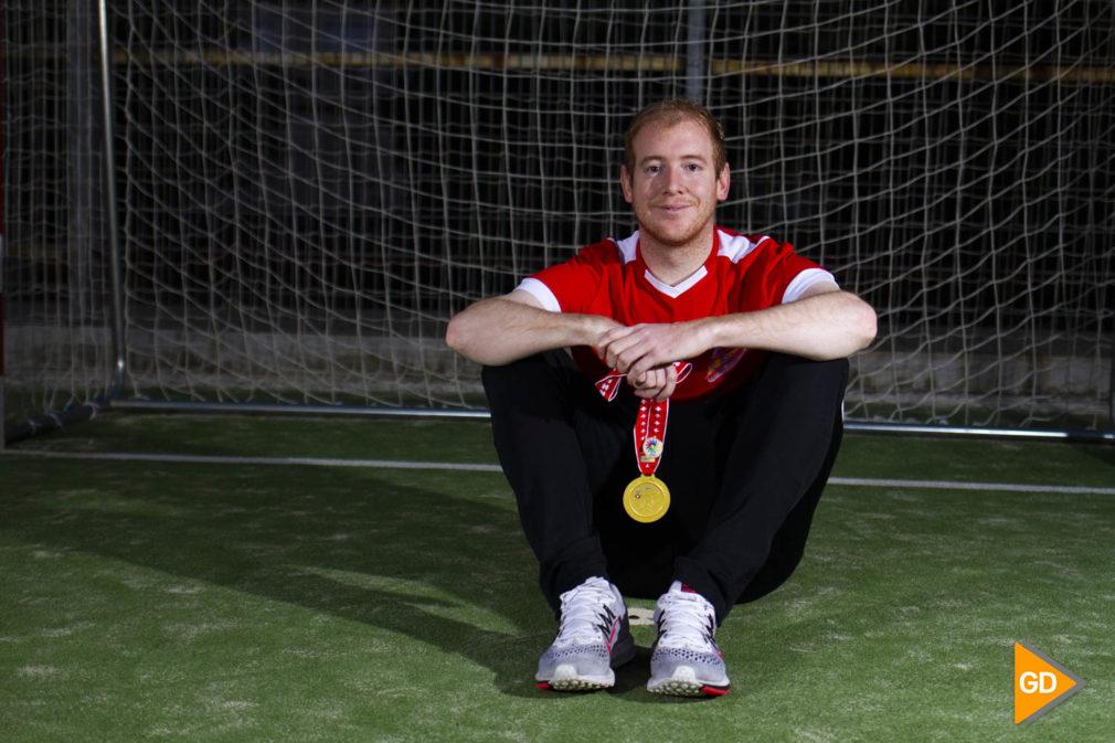 """Entrevista a Francisco Miguel Cabello """"Paquito"""" jugador de la selección española de futbol sala para sordos"""
