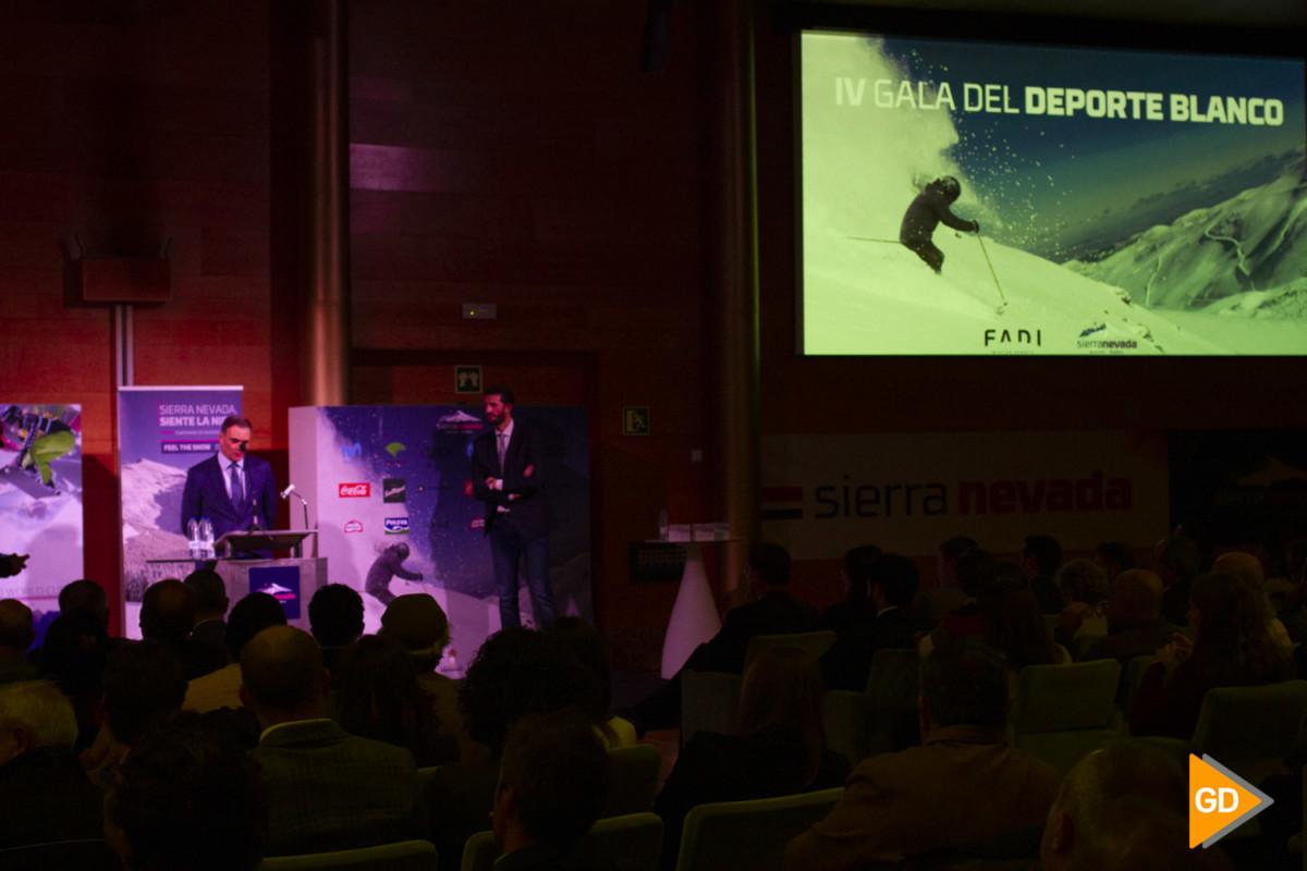 IV gala del deporte blanco en el palacio de congresos de Granada