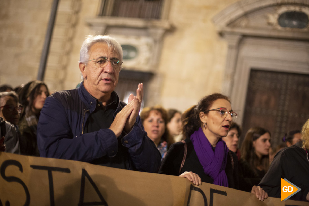 Protesta contra las manadas en Granada