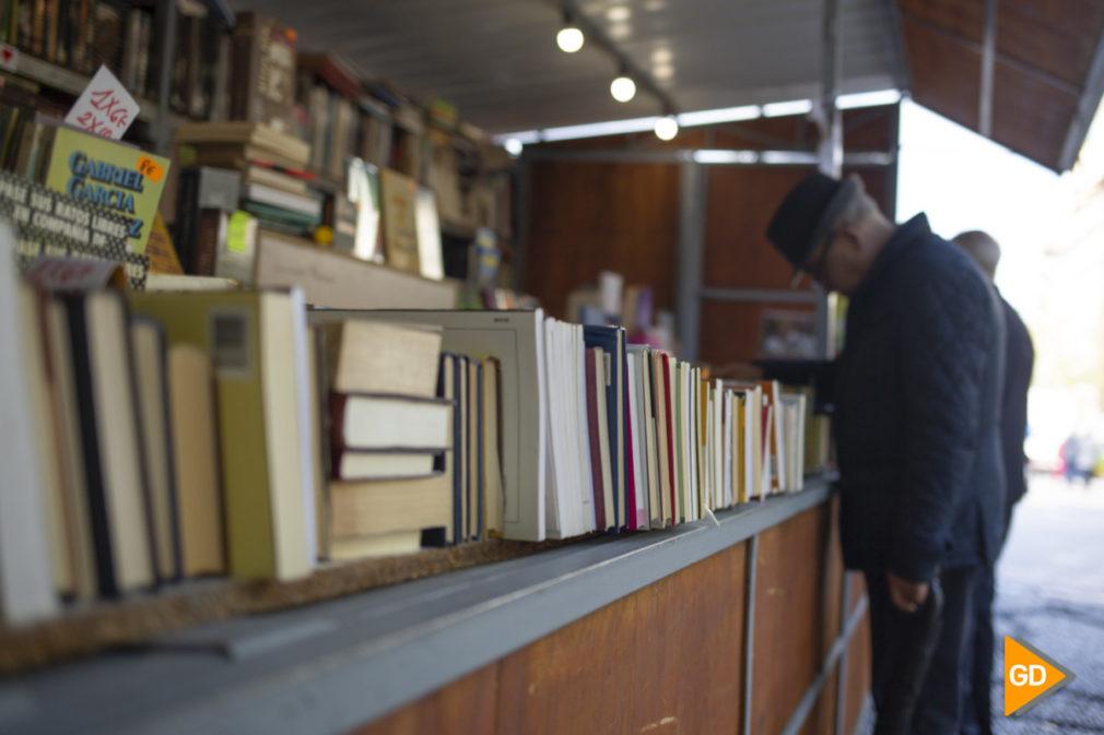 Puestos de libros en Granada