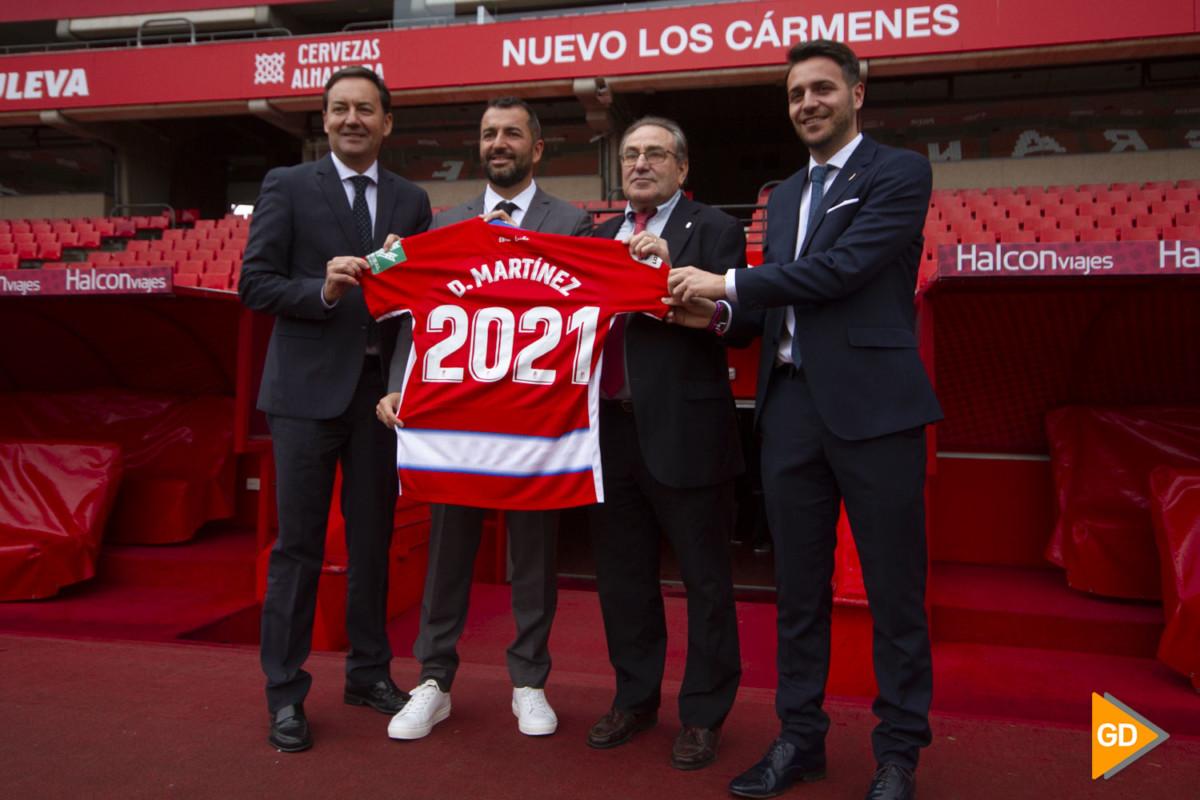 Rueda de prensa de Diego Martinez tras su renovación de como entrenador del Granada CF