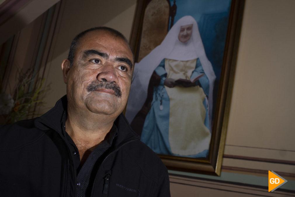 Rueda de prensa de Nelson Yepes protagonista del milagro de Maria Emilia en Granada
