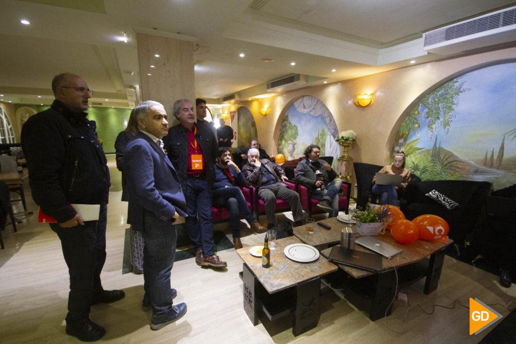 Sede de Ciudadanos en Granada en las elecciones generales del 10 de noviembre