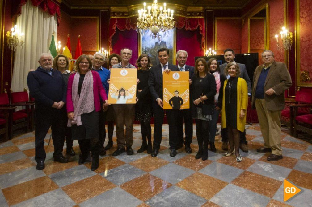 presentacion de la campaña de ALFA en el ayuntamiento de Granada