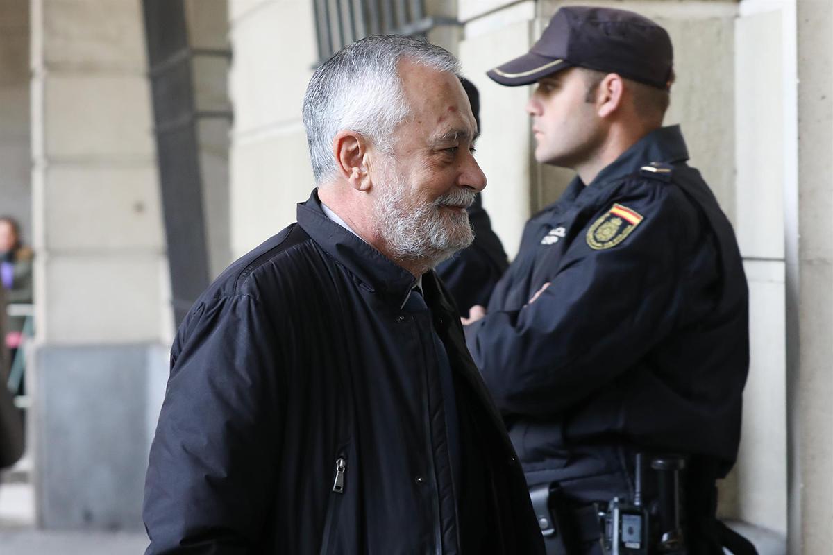 Griñan sentencia ERE – MARÍA JOSÉ LÓPEZ EUROPA PRESS