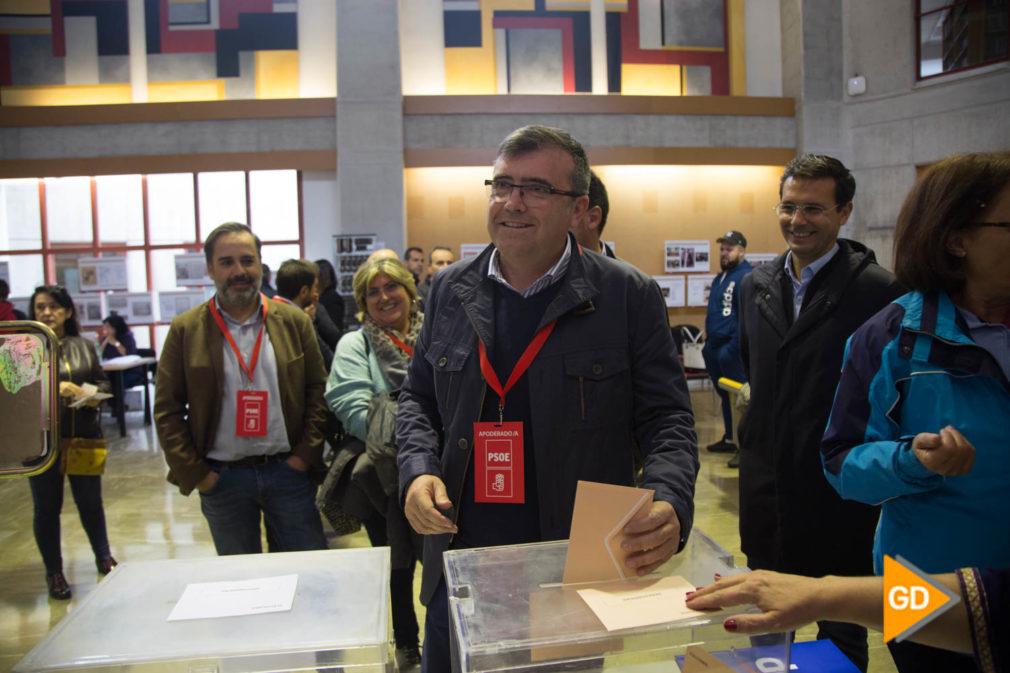 _José Antonio Montilla y Alejandro Zubeldia Santoyo, candidato al Senado (8)
