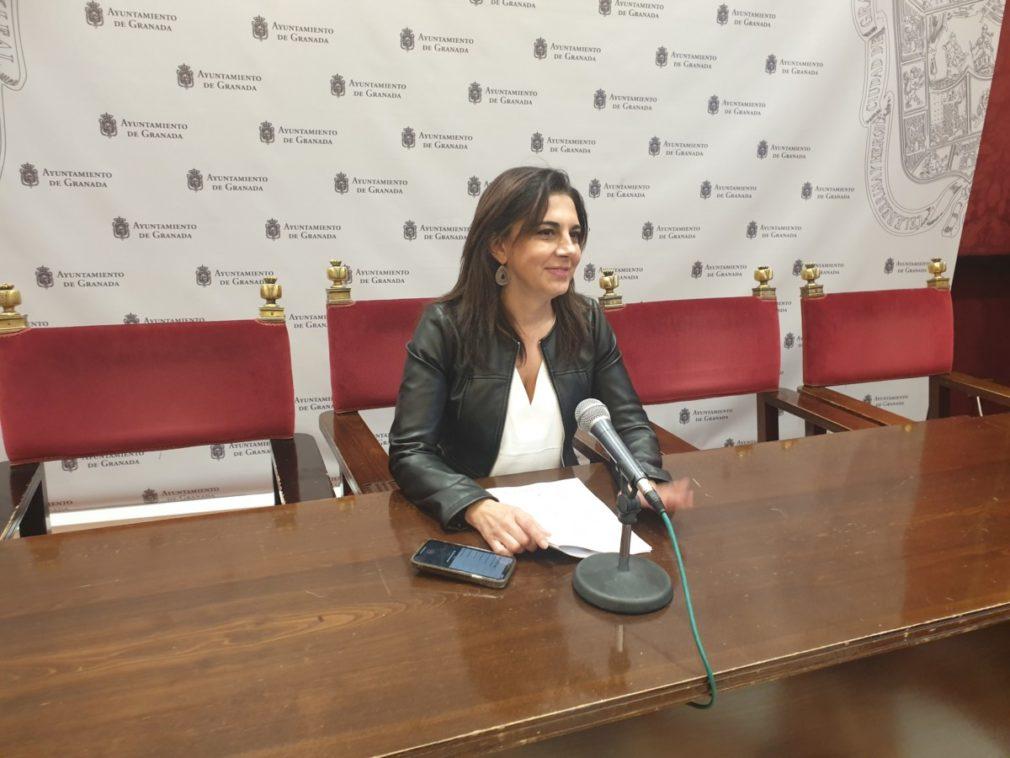 Raquel Ruz, hoy en rueda de prensa