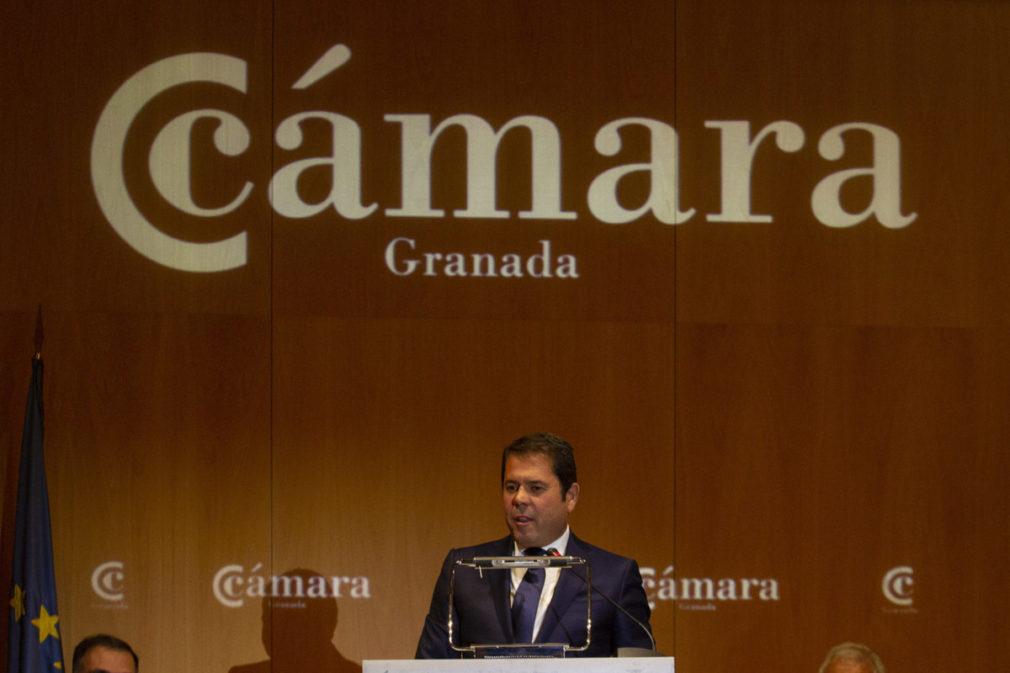 Toma de posesion de Gerardo Cuerva como presidente de la Camara de Comercio de Granada