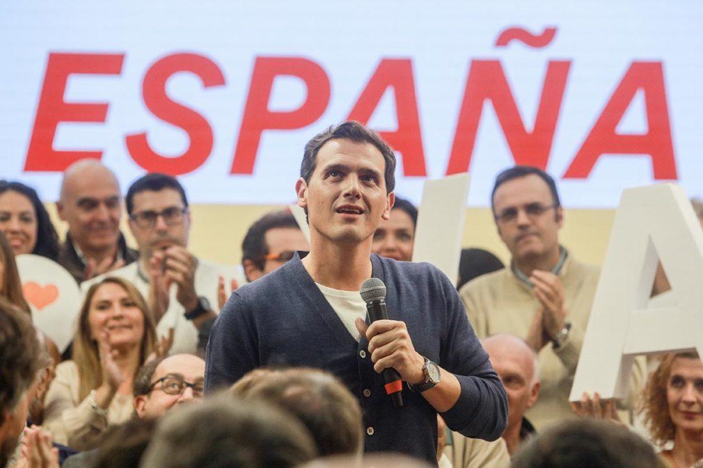 """Albert Rivera (Cs) participa en el acto """"España en marcha"""""""