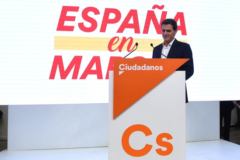 Elecciones generales 10N 2019. Seguimiento de resultados de Ciudadanos en Madrid