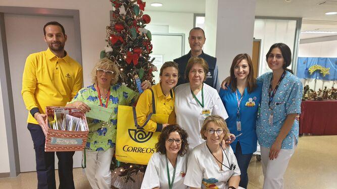 2019 Recogida Cartas Reyes Magos Granada Hospital San Cecilio (10)
