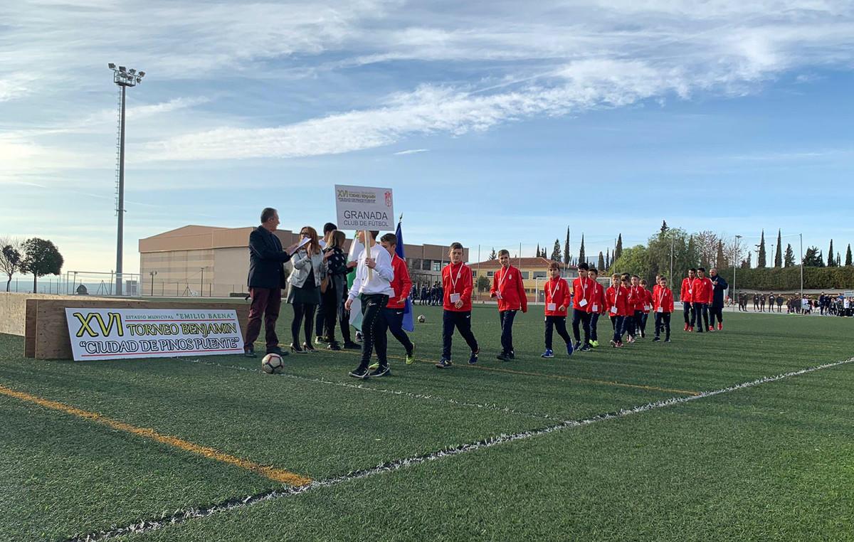 Apertura Torneo Benjamín Pinos Puente 08