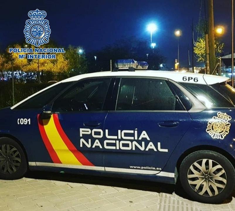 Granada.- Sucesos.- Dos detenidos tras una persecución policial en Baza por el robo en dos viviendas