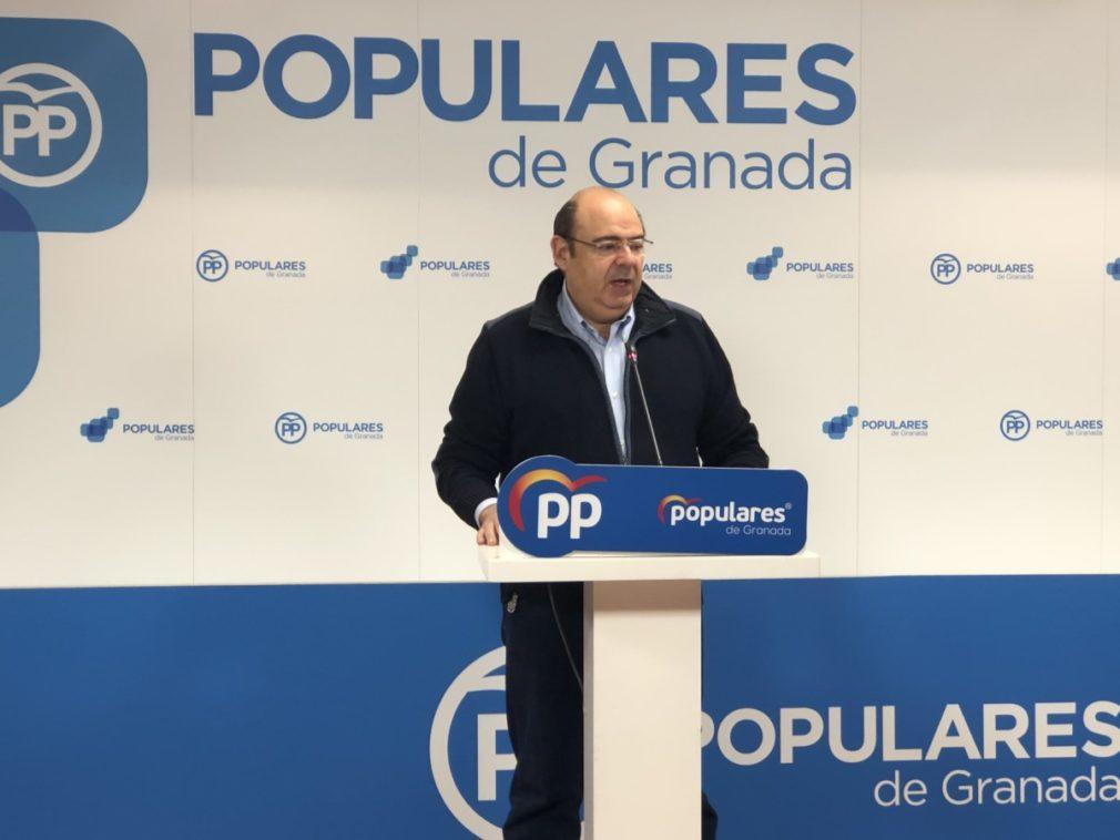 """Granada.-Sebastián Pérez afirma que la Junta """"ha conseguido arrancar el motor de Granada"""" tras el cambio del PSOE al PP"""