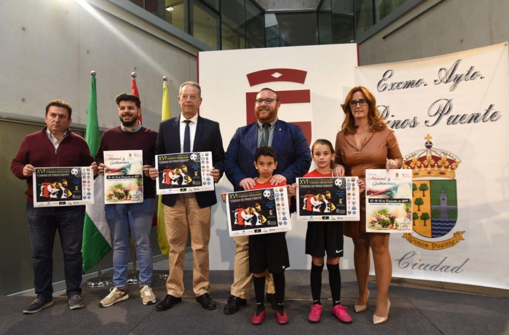 Granada.- Equipos nacionales e internacionales participan en el Torneo Benjamín 'Ciudad de Pinos Puente'