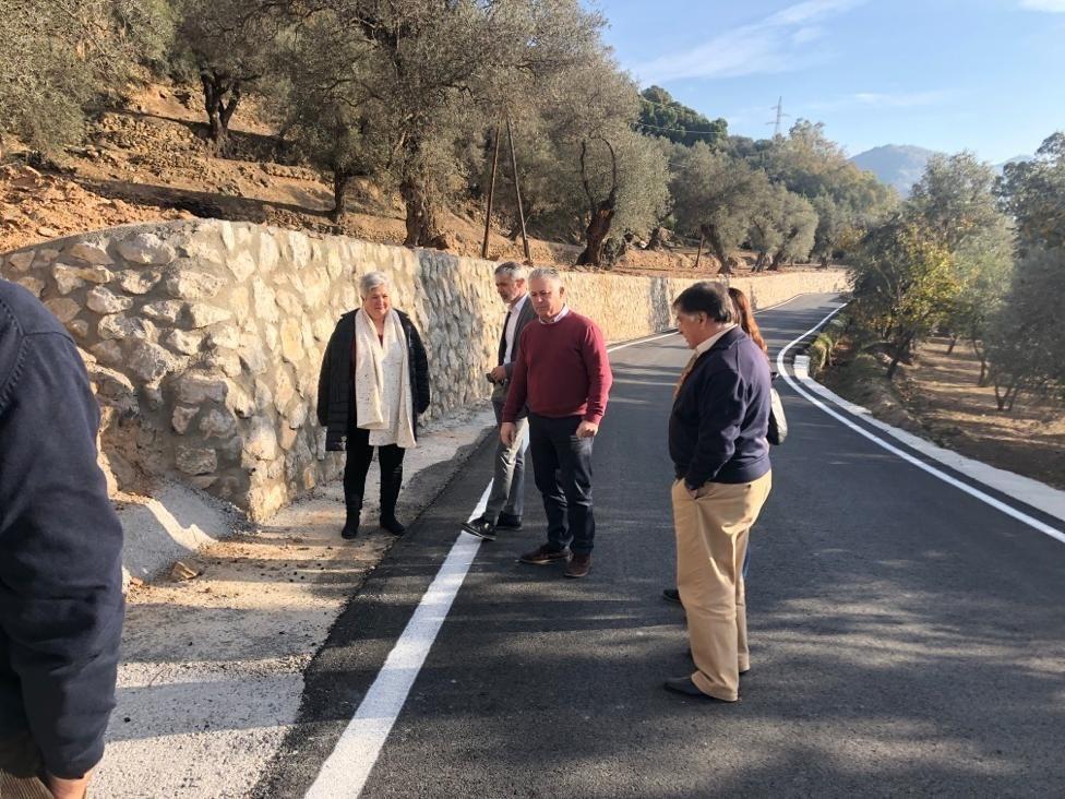Granada.- Concluyen las obras de mejora de la carretera que une Órgiva con su anejo de Tíjola