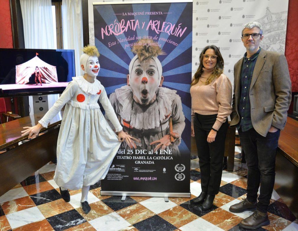 Granada.- La compañía de teatro La Maquiné ofrece en Granada un espectáculo familiar inspirado en el universo de Picasso