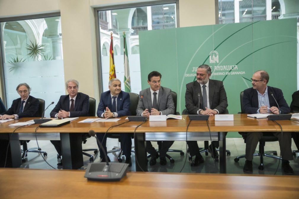 Granada.- Las instituciones renuevan su compromiso con los proyectos sociales en el distrito Norte de la capital
