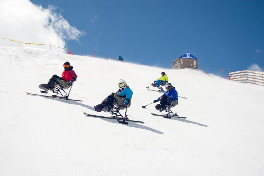 Granada.- Bankia impulsa el esquí adaptado en Sierra Nevada a través de su colaboración con Cetursa