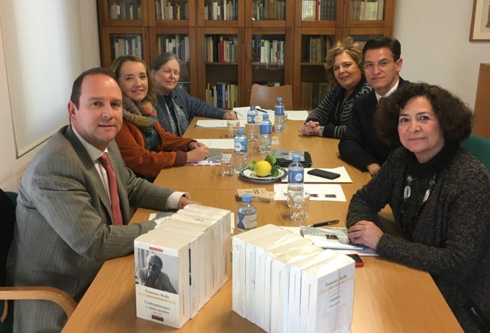 Granada.- El Patronato de la Fundación Francisco Ayala aprueba sus presupuestos y el plan de actuación para 2020
