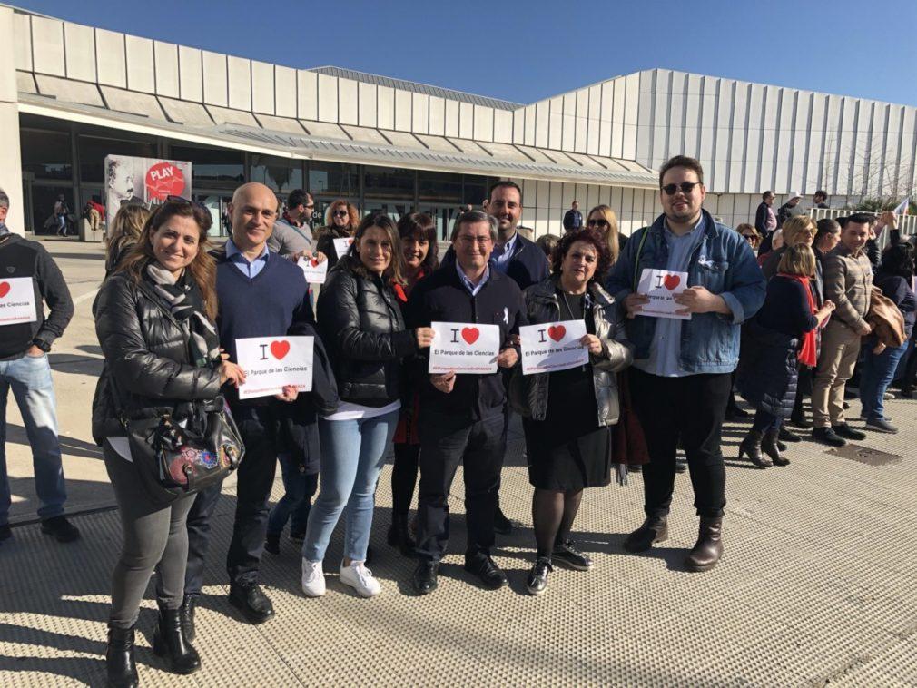 Granada.- Diputación denuncia cierre de cuentas bancarias de consorcios de Granada, entre ellos Parque de las Ciencias
