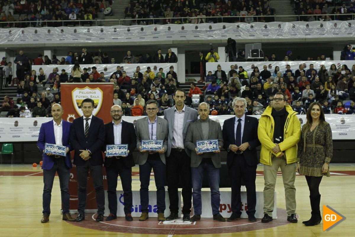 Partido de dieciseisavos de la Copa de Rey de futbol sala entre el SIMA Peligros y el Jaen