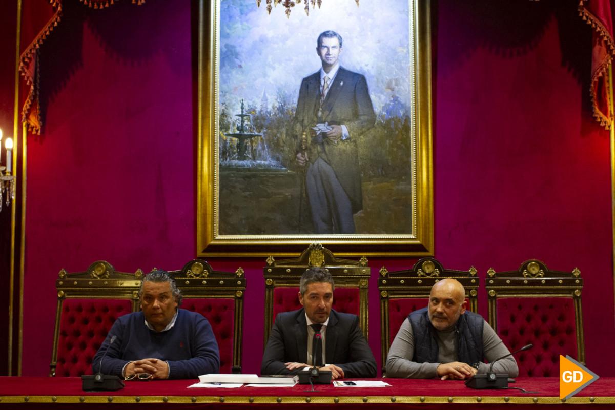 Entrega de premios de los escaparates navideños en Granada
