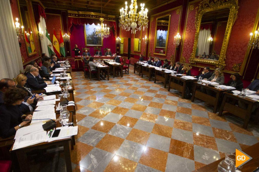 Pleno del Ayuntamiento de Granada del mes de diciembre