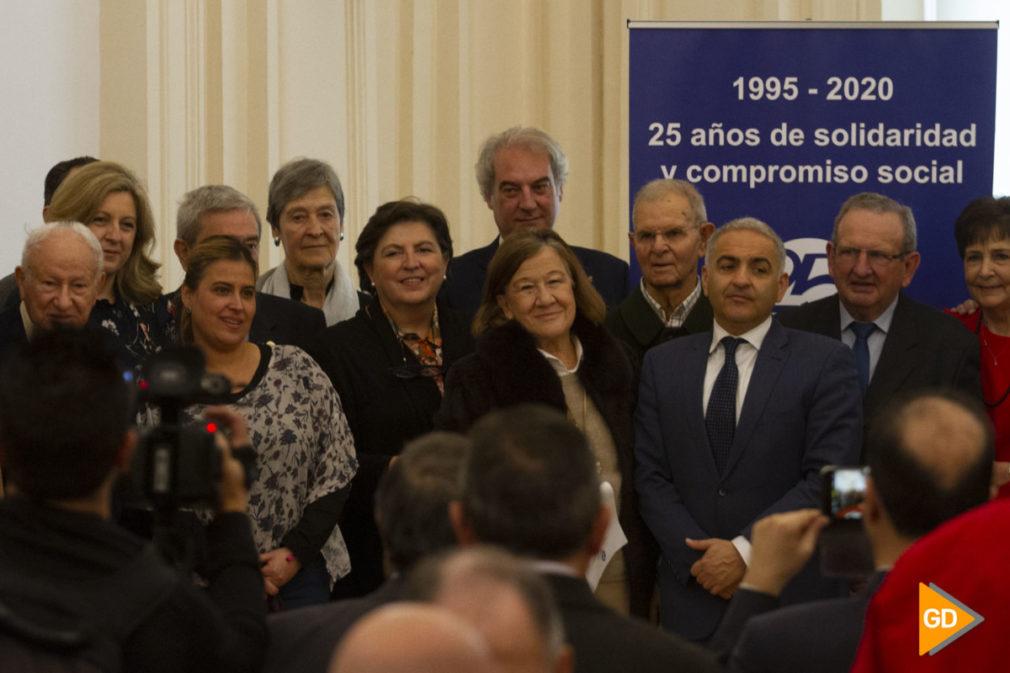 Presentación de la exposición sobre el 25 aniversario del banco de alimentos de Granada