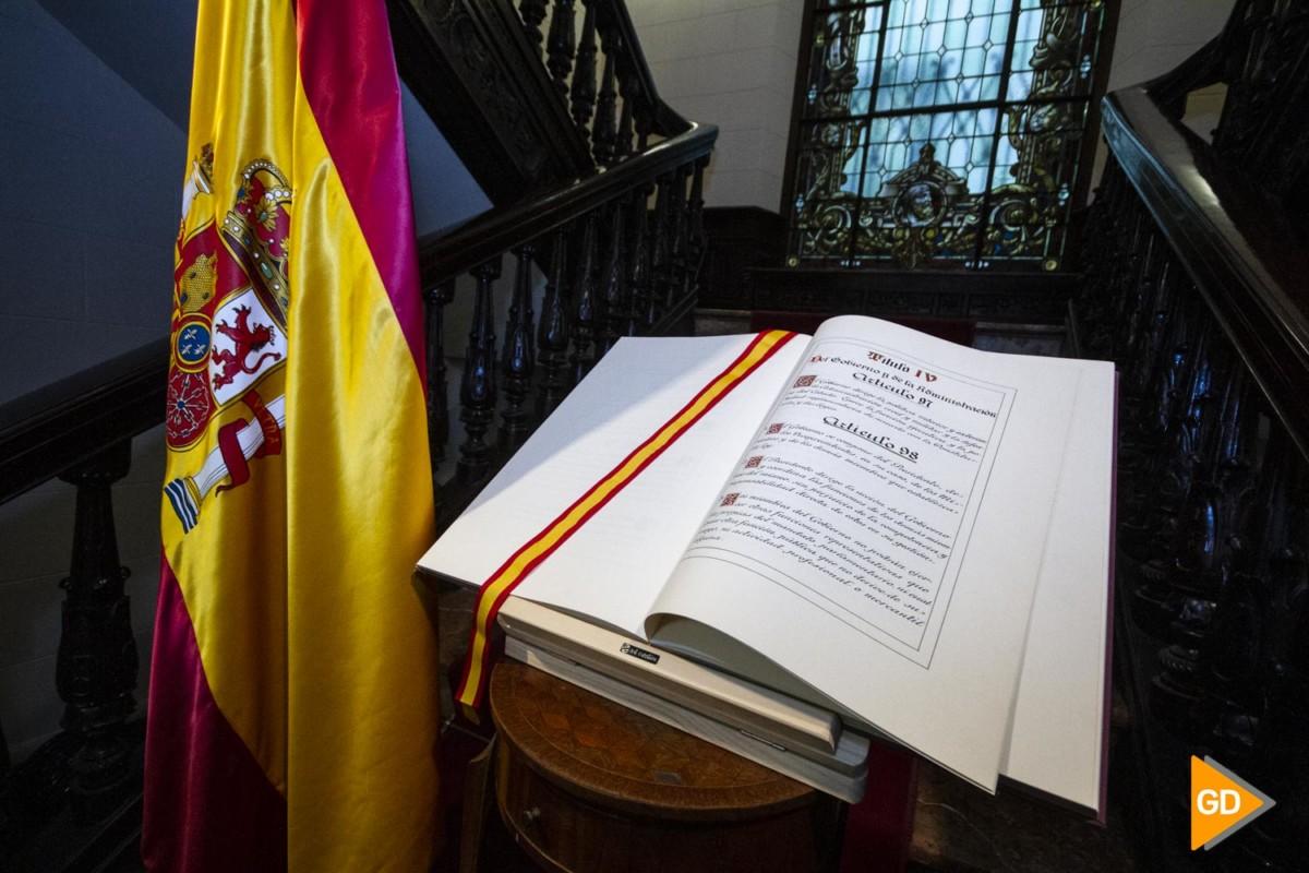 acto de conmemoración del 41 Aniversario de la Constitución Española en la Subdelegacion de Gobierno en Granada