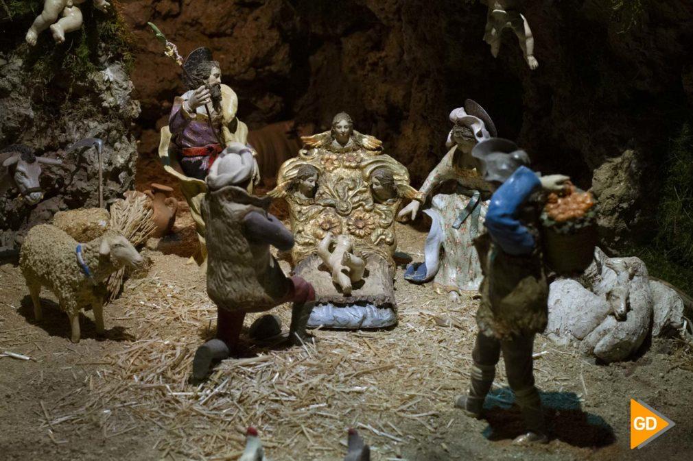 belén de la Plaza Bib Rambla que organiza la Asociación de Amigos de San Andrés y la cofradía de La Borriquita