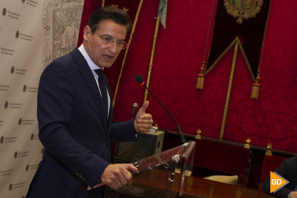 rueda de prensa de Luis Salvador