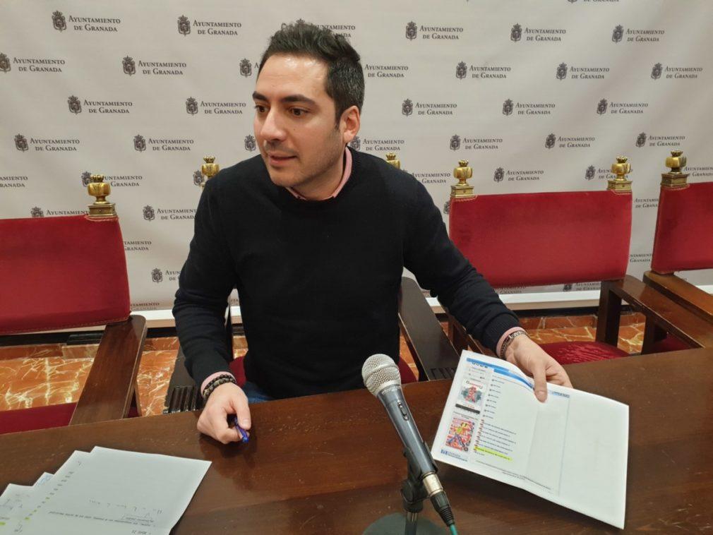 Eduardo Castillo, en rueda de prensa