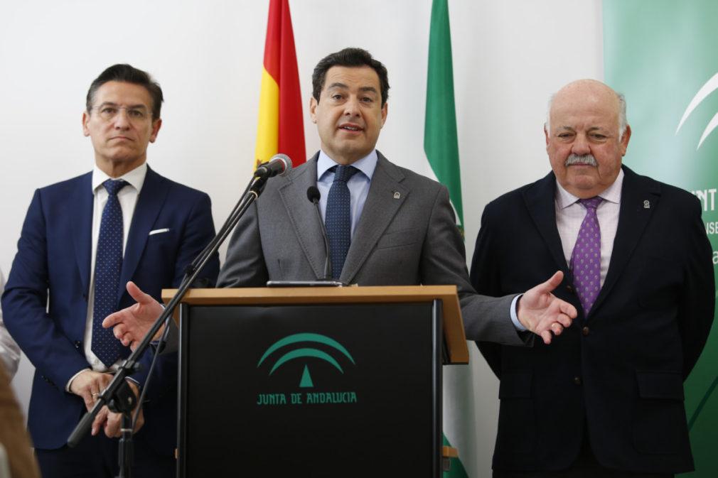 Inauguración de el centro de salud Bola de Oro en Granada