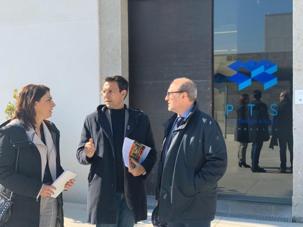 Granada.- Cuenca se reúne con la dirección del PTS y reivindica su condición de motor económico