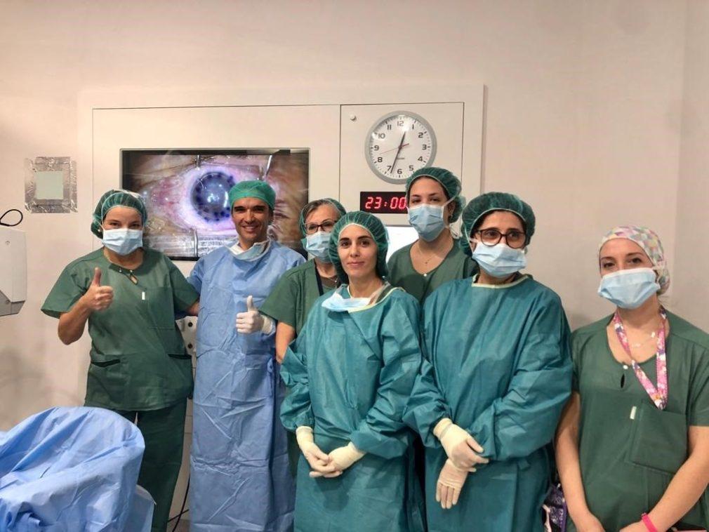 Granada.- El Hospital Virgen de las Nieves incorpora la técnica más novedosa y eficaz para trasplantes de córnea