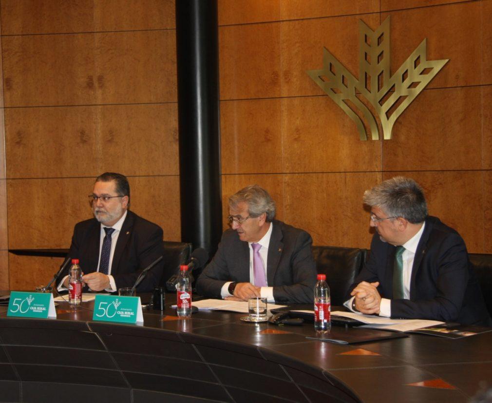 Granada.- Caja Rural obtuvo 36,2 millones de beneficios en 2019, un 9,6 por ciento más