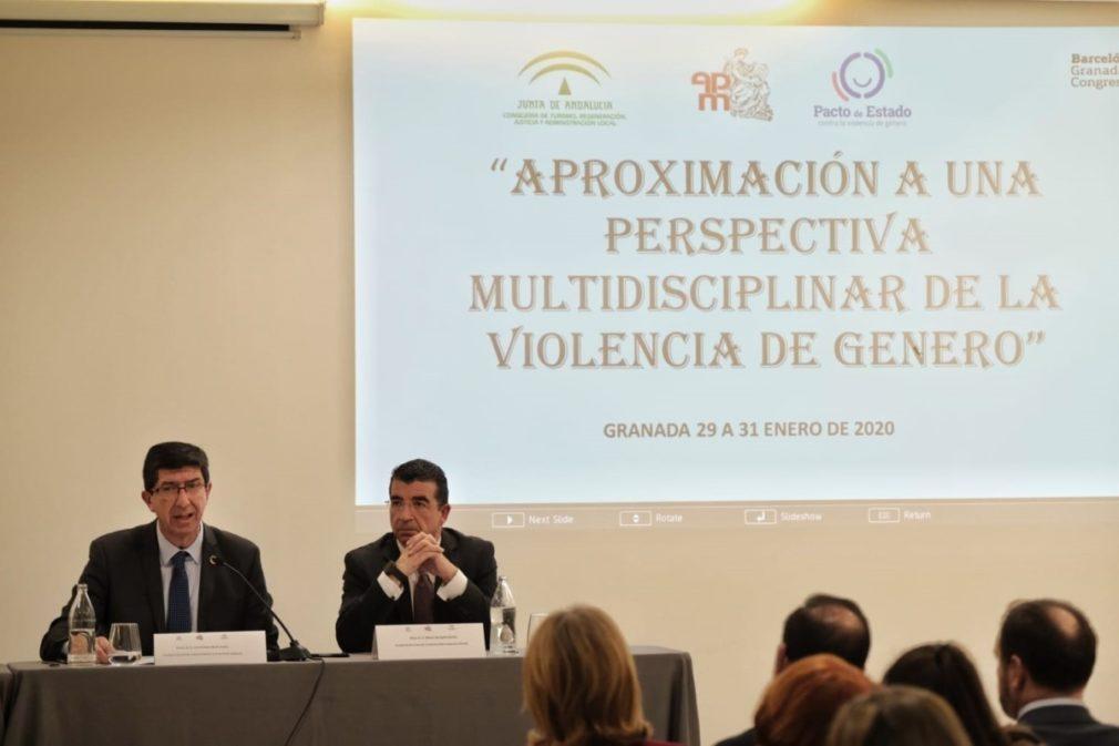 """Granada.- Marín anuncia que el edificio judicial de Caleta """"estará operativo tras reforma en segundo semestre de 2021"""""""