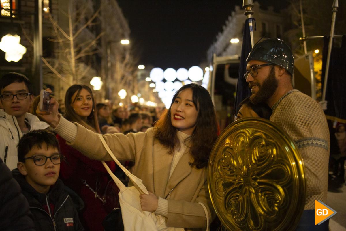 Cabalgata de los Reyes de Magos en Granada