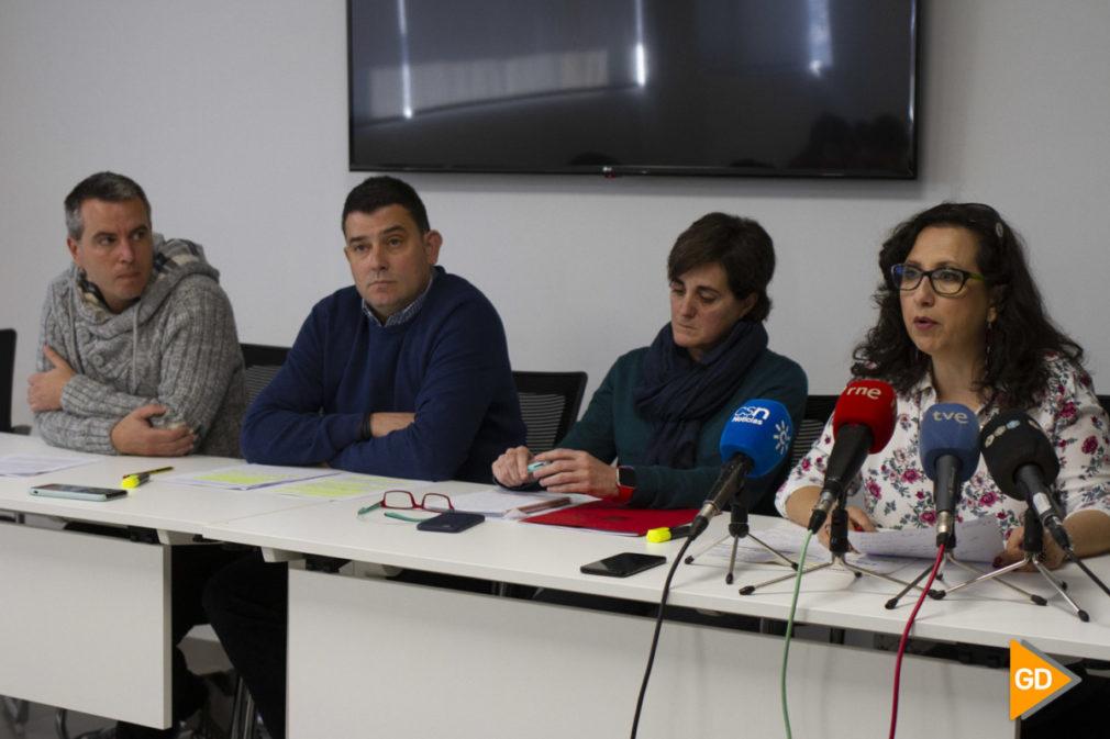 Rueda de prensa para analizar los cambios que se pueden producir en los centros educativos públicos de la provincia de Granada