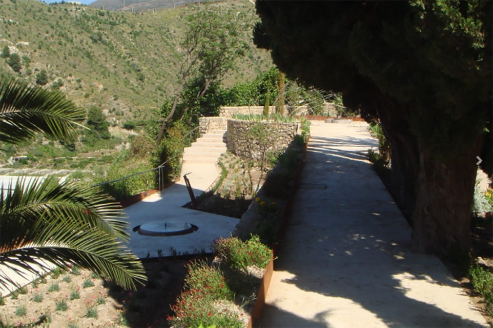 Jardin nazari Velez de Benaudalla 1