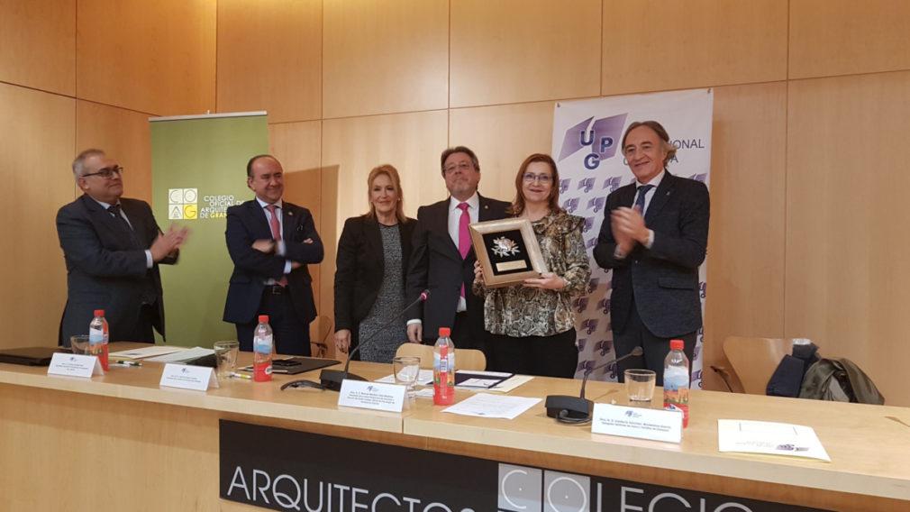 La jueza Rosalía Fernández Alaya recoge el reconocimiento