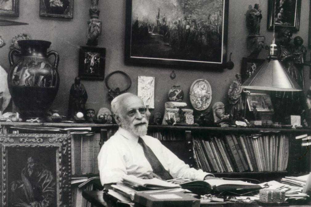 Granada.- El historiador Manuel Gómez-Moreno Martínez recibirá un homenaje en el 150 aniversario de su nacimiento
